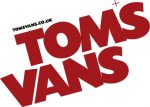 Tom's Vans Removals Logo Brighton